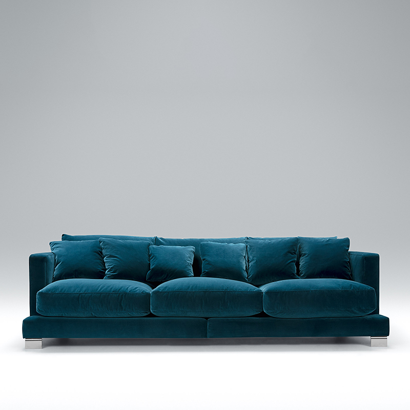 Here we have the popular Baltimore 4 seater velvet sofa. Available in a range of sizes and colours. Shop today!