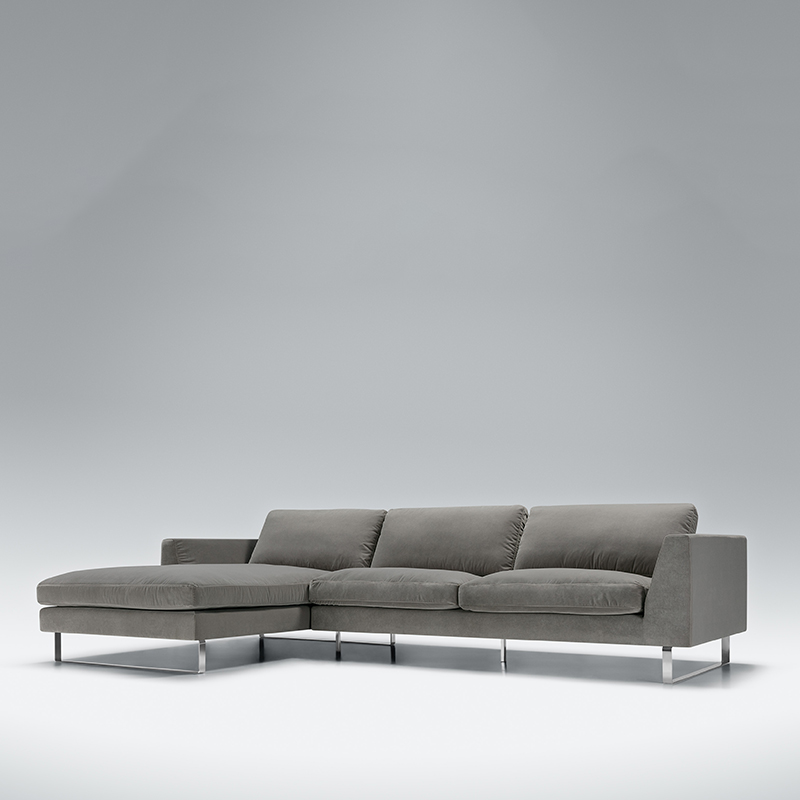 Here we have the gorgeous Tahoe velvet corner sofa. Available in a range of sizes and colours. Shop today!