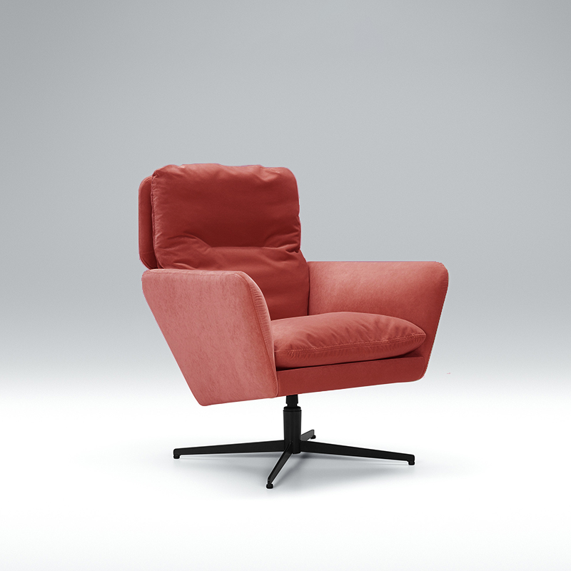 Here we have the gorgeous Zed red velvet armchair. Available in a range of colours. Shop today!